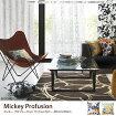 クッションカバー 【日本製】MICKEY Profusion クッションカバー 45cm×45cm