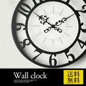 【 クーポンで626円引き 】 【ポイント10倍】 掛け時計 壁掛け クロック 壁掛け時計 ウォールクロック 子供部屋 かわいい アンティーク風 レトロ クラシック デザイン おしゃれ CL4960 GISEL ジゼル モダン 北欧 送料無料 母の日