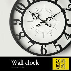ポイント 掛け時計 クロック ウォール 子供部屋 アンティーク クラシック デザイン おしゃれ