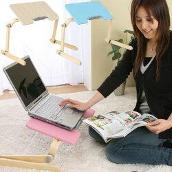 折りたたみテーブルノートPCデスクパソコンデスクパソコンラック木製折り畳み