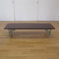 折りたたみ式会議テーブル座卓(ロータイプ)150X45cm完成品折りたたみ組み立て不要業務用会議用テーブル会席テーブル折りたたみテーブル会議テーブル1500【あす楽対応】
