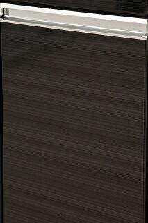 【送料無料/設置無料】日本製上品な鏡面木目の大容量食器棚カイザー幅60cmブラックキッチンボード食器棚鏡面木目白ホワイト黒ブラックモダンキッチン収納パントリー水屋茶箪笥水や食器収納