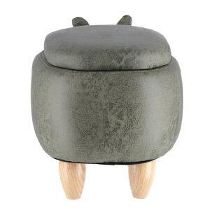アニマルスツール収納付きサイさん椅子いす子供用キッズ足置きオットマン子供部屋子供家具収納便利幅67cm天然木整理動物どうぶつプレゼントインテリアかわいい人気送料無料