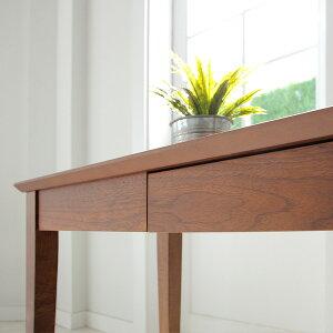 ウッドデスク100北欧風木木製木目引き出しパソコン高級感パソコンデスク書斎リビングコンパクトプレゼントシンプル寝室可愛い人気おしゃれ送料無料ディオーネ