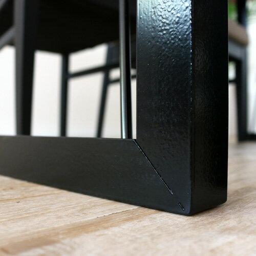ダイニングテーブル 150 TEQUIRA テキーラ ウォールナット 無垢材 無垢 アンティーク 北欧 幅150 150cm 幅150cm レトロ モダン 和モダン アイアン 一枚板風 4人掛け 4人 4人用 木製 天然木 単品 おしゃれ itp gkw