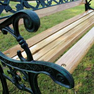 ガーデンベンチRoofルーフ|【代引不可】パークベンチベンチチェアガーデンチェア屋外ベンチ木製天然木アンティークレトロおしゃれ楽天送料無料通販
