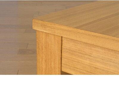 伸縮リビングテーブル拡張式テーブル座卓センターテーブル広げる完成品なので面倒な組立ては不要です天然木アッシュ材の突板