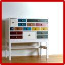 カラフルチェストアジアン家具カラーチェスト木製アンティーク調子供家具かわいいリビングボー...