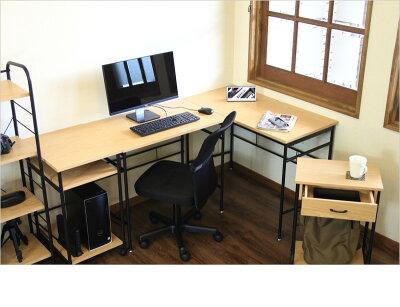 デスクパソコンデスク木製LISA幅100cm男前インテリア勉強机作業台パソコンデスクスチールおしゃれテーブルシンプルデスクコンパクトデスク木製引き出し付き引出し付きクール派カッコいい北欧送料無料送料込み