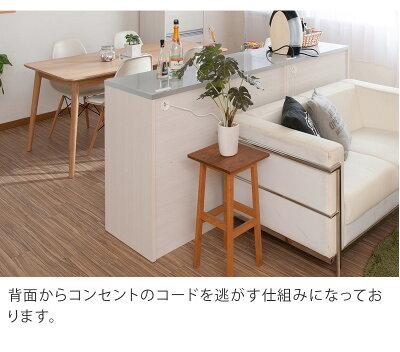 キッチンカウンターおしゃれキッチン家具両面テーブル食器棚キャスター付き引き出しキッチン家電ラック