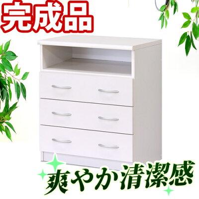 ピュアホワイト[Branco(ブランコ)]TVボード幅60cm引出し一人暮らし白【SB23681】送料無料新春