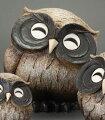 置物|送料無料|微笑ふくろう茶9号|360-06|伝統|匠の技|信楽焼き|梟|陶製|可愛い|焼き物|ペット|信楽焼|ふくろう|縁起|陶器|梟|信楽|インテリア|2013|秋|新生活|衣替え|セール|送料込|フクロウ|アジアン|和|ギフト|和風|縁起物|玄関|デザイン|オブジェ|小物|雑貨|通販