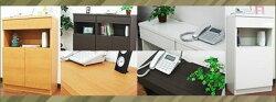 電話台ファックス台国産幅45奥行29.5完成品TEL台fax台テレホンラックリビング収納モデム収納ルーター収納リビングラックボードキャビネットシンプル収納木製日本製完成品電話台ファックス台幅45cm