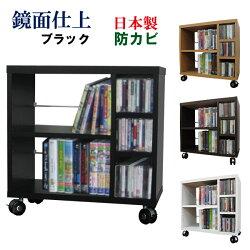WIDEパソコンデスク【ワゴン単品】/ブラック