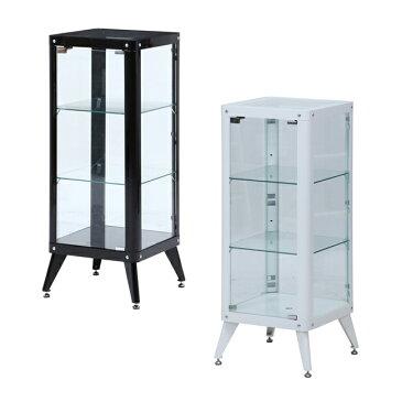 ガラスコレクションケース 3段 ディスプレイラック キャビネット フィギュア ショーケース 不二貿易製 送料無料 98844 新品 オフィス家具