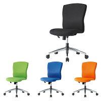 オフィスチェアスチールメッキ脚タイプ事務椅子回転椅子PCチェアデスクチェア【井上金庫製:JUCシリーズ】【JUC-06M】【新品】【オフィス家具】【全4色】