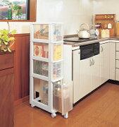 キッチンチェスト ホワイト クローゼット コンパクト アイリスオーヤマ