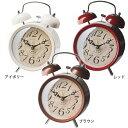 【送料無料】【TC】目覚まし時計 REDDITCH レディッチ CL-7552 アイボリー・レッド・ブラウン 置き時計 とけい トケイ クロック 時間 インテリア 雑貨 プレゼント 【NGL】【取寄せ品】[P10]