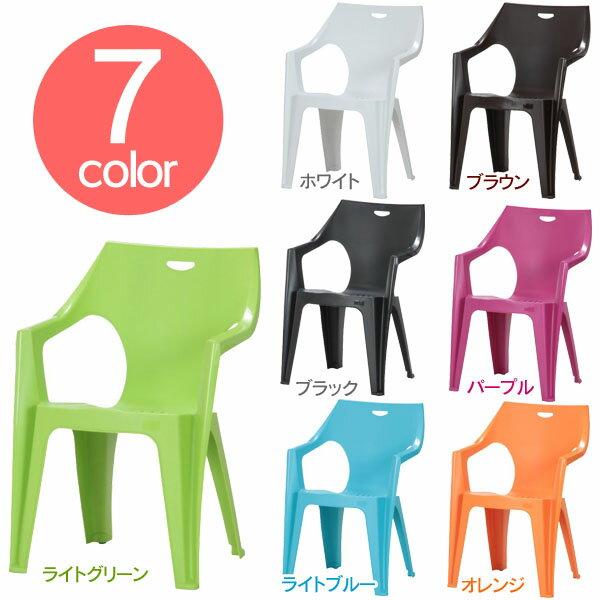 【在庫限り】椅子 可愛い かわいい おしゃれ カラフル アンジェロ ホワイト ブラウン ブラック ライトグリーン ライトブルー パープル オレンジ 全7色 イタリアンチェア PCチェアー 【D】【FB】【TTZ2】