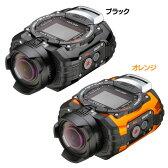 【送料無料】RICOH アクティビティカメラ WG-M1-BK・WG-M1-OR ブラック・オレンジ【D】【KB】【デジタルカメラ カメラ 小型 コンパクト 防水】