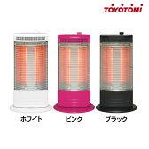 TOYOTOMI〔トヨトミ〕 赤外線ヒーター EH-Q100E ホワイト・ピンク・ブラック【電気ストーブ 赤外線ヒーター】【K】【D】【2014暖房】
