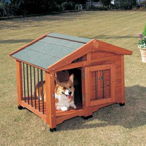 サークル犬舎/CL-990/ブラウン/ペットと暮らす/犬小屋/ハウス/飼育/ペットグッズ/【アイリスオーヤマ】ペット用品・犬】【送料無料】