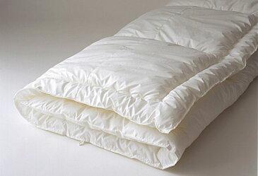 【お見積もり商品に付き、価格はお問い合わせ下さい】日本ベッド ポリエステルわた掛ふとんファイバーコンフォーター ホワイトSD セミダブルサイズ D ダブルサイズ ポリエステル 綿 抗菌 防臭加工 丸洗い
