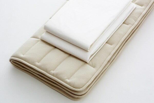 日本ベッド ベッドメーキングセットデラックス フレックスメーキング 3点セット50780クイーンサイズ:家具のアイテム