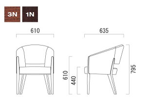 パーソナルチェアクレスCRESパーソナルチェアードメニカDOMENICAW一人掛張地B1台からの注文承ります。大量注文の場合は、お見積もりいたします。椅子チェアイスチェアーいすchair[送料無料]