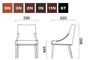 パーソナルチェアクレスCRESパーソナルチェアードナーレDONAREM肘無張地B1台からの注文承ります。大量注文の場合は、お見積もりいたします。椅子チェアイスチェアーいすchair[送料無料]