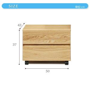 プリンターワゴン木製システムベッドシリーズデスク脇にプリンターワゴンナチュラル北欧角部R加工スライドレール仕様引出し組み合わせて使えるシステムベッドシリーズキャスター付子供部屋[日祝不可][送料無料]