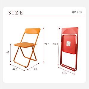 折りたたみ椅子フォールディングチェア4台セット軽くて丈夫コンパクトな折りたたみチェアSLIMスリム折りたたみチェア『productdesignaward2011』金賞背もたれ付き[]