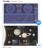 コイズミ学習デスク2016デスクマット星と星座/宇宙YDS-985SU保護マット