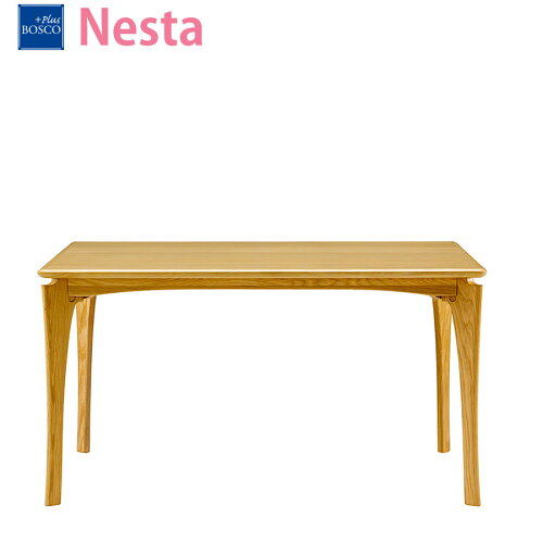 ボスコプラスネスタダイニングテーブル130cmナチュラルDT84004Q-PN800