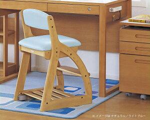 フォーステップチェア(レザータイプ)学習椅子・学習チェア【koizumi】コイズミ※代引き不可