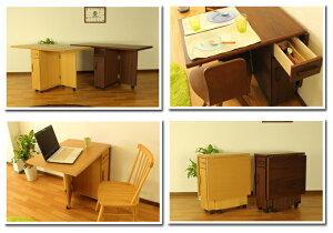 【送料無料】両バタフライテーブルPeony-ピーアニー-ダイニングテーブル折りたたみテーブルOWK/WNオークホワイトナチュラルリビングテーブル折りたたみ完成品