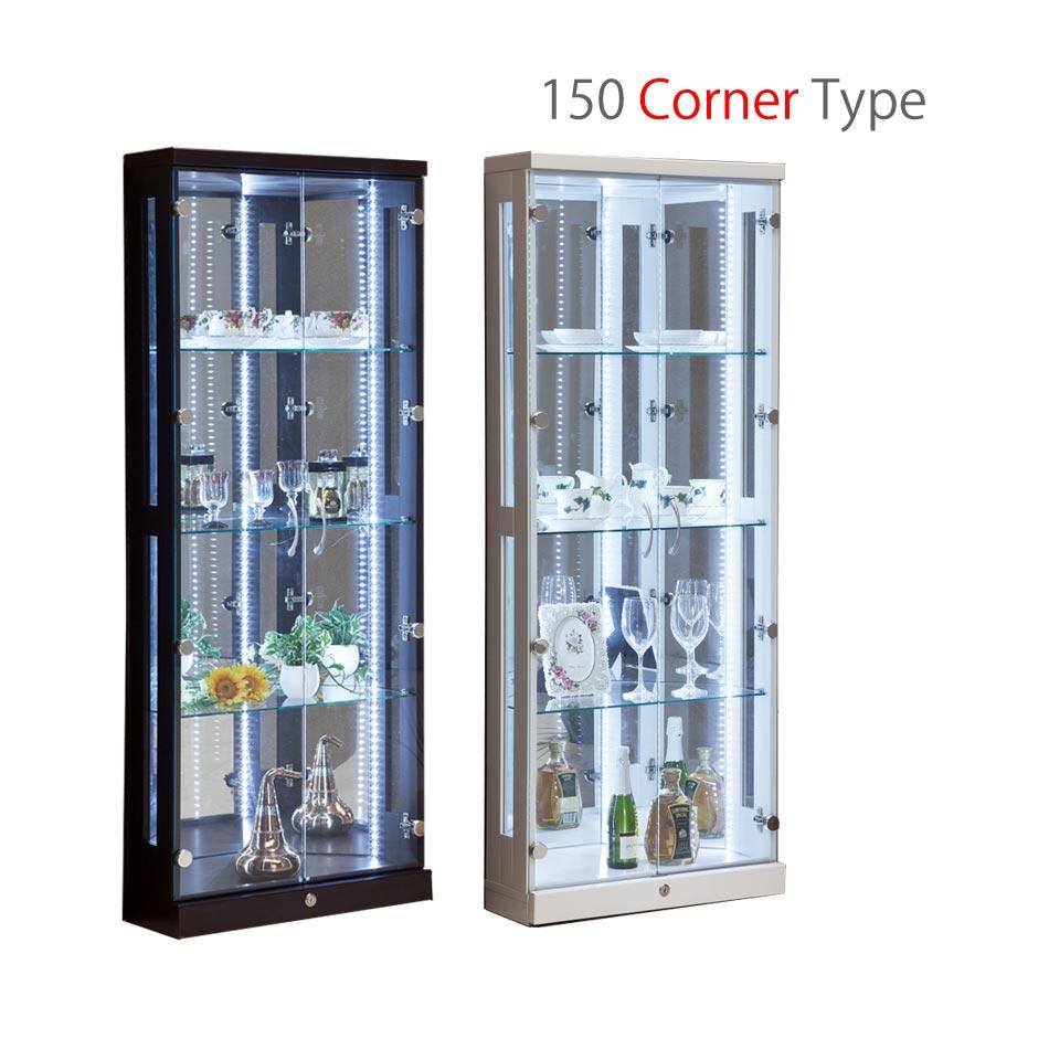 コレクションケース フィギアケース マルコ コーナータイプ コレクションボード  フィギュアボード フィギアケース フィギュア 収納 LED コレクション棚 コレクション ディスプレイ:かぐわん