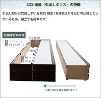 お急ぎ必見送料無料アウトレットセール畳ベッドシングル畳チェストベッドあかつきカウンタータイプ引出レール付き収納付き日本製収納ベッド国産フレームRCP