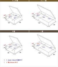 ユニット畳跳ね上げ式収納4.5畳セット