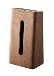 ティッシュケースリンブラウン[ティッシュボックスティッシュカバー木製木ティッシュスタンドティッシュたて縦]【ポイント10倍!】