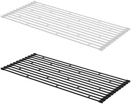 折り畳み水切りラックタワーL[キッチンシンクお皿コップ水切り板作業台ラック]PVSWKPVSBKPVSWPVSB【ポイント10倍!】