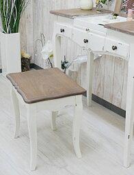 スツールアンティーク[アンティーク家具シャビーシックシャビー家具チェア猫足家具][ドレッサー椅子]
