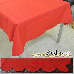 テーブルクロスクリスマス無地140×180[テーブルクロス布赤レッド緑グリーン飾り付け]【ポイント10倍!】