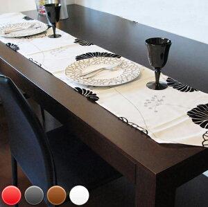 テーブル ランナー アジアン ライナー センター テーブルクロス ブラック ブラウン ホワイト