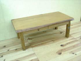古材でつくった地松の文机:家具ストアー