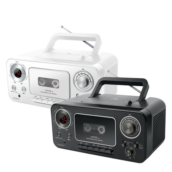 ポータブルオーディオプレーヤー, ポータブルカセットプレーヤー (ANABAS) CD (AC) CD-C300 CD FM AM