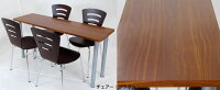 『テーブルとチェアの5点セット』送料無料オフィス用(事務所用/会議室)の会議テーブル(ミーティングテーブル会議用デスク椅子セット)応接室(接客用応接用)の商談机(商談テーブル応接セット)休憩室や食堂のダイニングセット