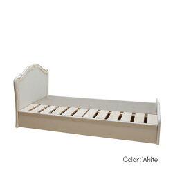 カンティーニュシングルベッド(B−11BOX付桐スノコ)2Colorアンティーク&ホワイト【卸】