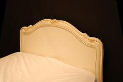 カンティーニュシングルベッド(B−01スタンダード)2Colorアンティーク&ホワイト【卸】