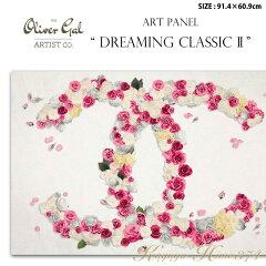 【代引き不可】アートパネル「DREAMING CLASSIC 2」サイズ91.4×60.9cm ファッションの絵画 ブランドモチーフポップアート アートフレーム The Oliver Gal Artist Co 渡辺美奈代セレクト